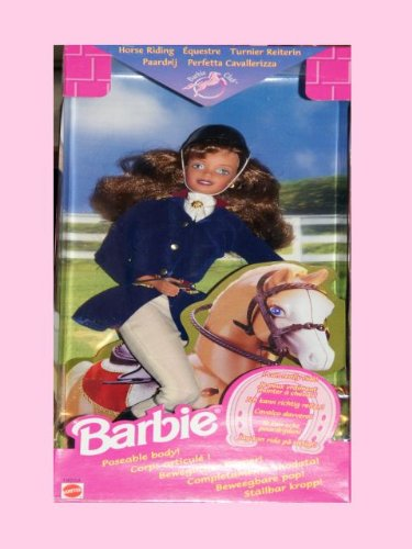 Barbie Horse Riding Riding Club Poseable Body