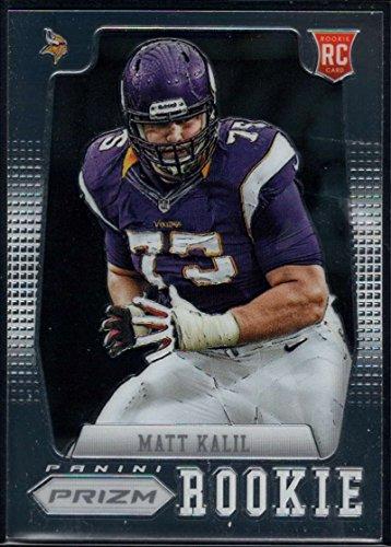 2012 Panini Prizm Rookies #282 Matt Kalil Vikings NFL Football Card (RC - Rookie Card) NM-MT