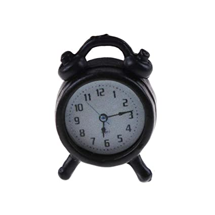 Alarm Clocks for Bedrooms - Creative Alarm Clock Cute Mini Metal Small Alarm Clock Electronic Small