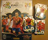 225 Adrenalyn XL Euro 2012 Panini Card set Rising stars & Star Players included