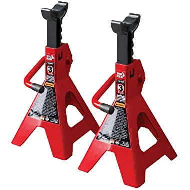 Torin T43002 Jack Stands - 3 Ton, 1 pair