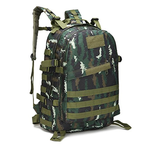 AIMTOPPY Outdoor Backpack,40L 3D Camouflage Bag for Outdoor Trekking Sport Travel Camping Hiking bag - Jacket Sale Oakley