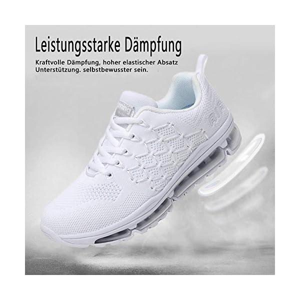 Uomo Donna Air Scarpe da Ginnastica Corsa Sportive Fitness Running Sneakers Basse Interior Casual all'Aperto 34-46 EU… 3