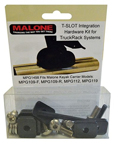 - Malone Auto Racks T-Slot Mounting Kit for Aero Style Bars (MPG110, 112, 115, 119
