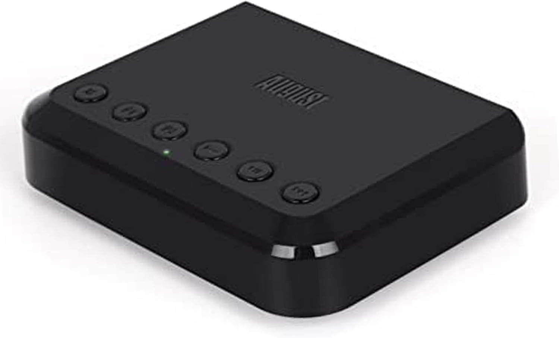 Receptor de Audio WiFi -August WR320 - Adaptador multihabitación para Sistemas de Altavoces - Convierte Altavoces con Cable en inalámbricos - Compatibilidad WiFi, Aux, Ethernet y Airplay