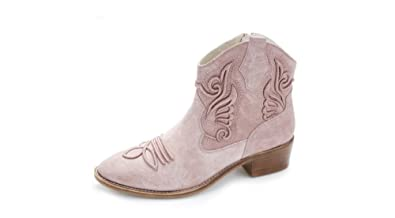 81593628f8ca Image Unavailable. Image not available for. Colour  Bronx Women s Pastel  Cowboy Ankle Boots ...