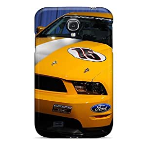 Premium Durable Ford Mustang Boss 302r Fashion Tpu Galaxy S4 Protective Case Cover