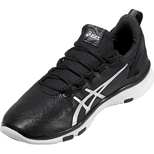White 2 Silver 9093 da Fit Sana Gel Donna Nero Sneakers Black Asics qv4watn