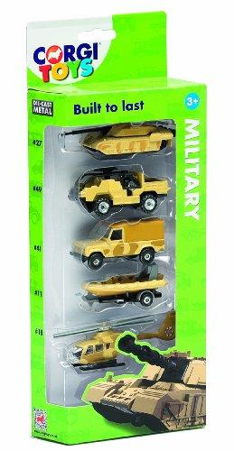 Corgi Toys Military Vehicle (Pack of 5) ()