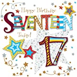 Seventeen Today 17th Birthday Greeting Card By Talking Pictures Greetings Cards