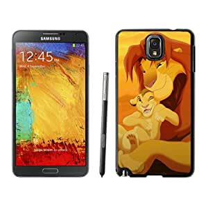 The Lion King Black Samsung Galaxy Note 3 Phone Case Fashion and Durable Protective