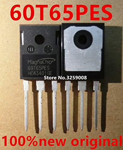 Electrical Equipments 60T65Pes Mbq60T65Pes 60A/650V To-247 100% New Imported Original 5/10Pcs - (Size: 5Piece) by Rarido