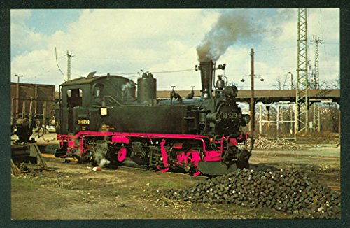 - East Germany Mallet Tank German State Railways Railroad Train Postcard