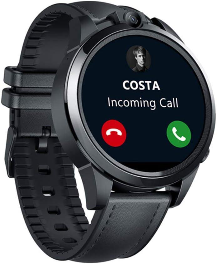 SZJNL Smartwatch 3GB + 32GB Cámara Dual Desbloqueo Facial Reloj Inteligente 4G con GPS Monitor De Ritmo Cardíaco 800 Mah Potente Batería De Gran Tamaño Pantalla Táctil Completa
