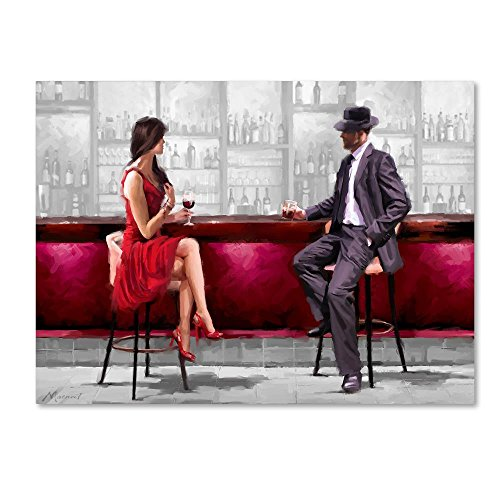 Meeting Version 2 by The Macneil Studio, 35x47-Inch Canvas Wall Art