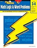 img - for Math Logic & Word Problems, Gr. 3-4 (Power Practice) book / textbook / text book
