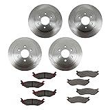#5: Brake Pad & Rotor Kit Ceramic Front & Rear for 03 Dodge Durango