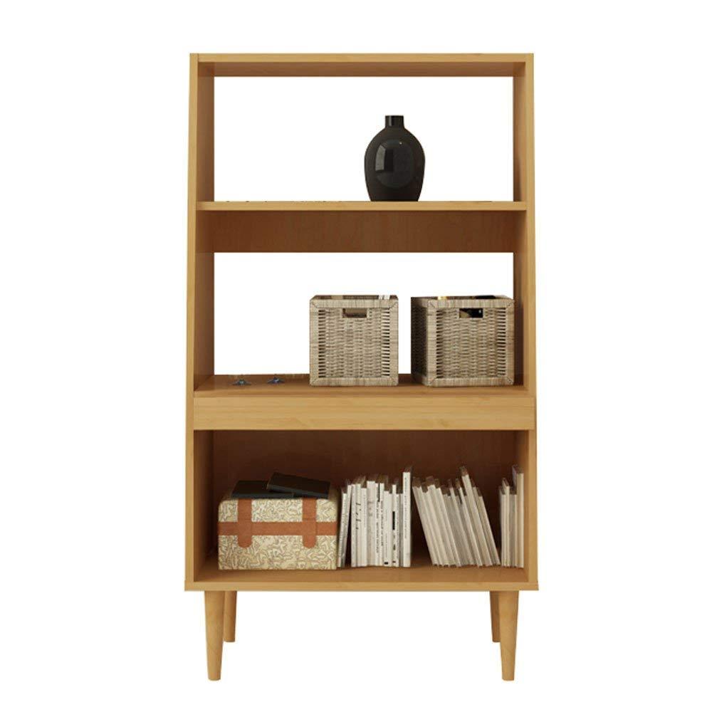 YCT シンプルな創造的な本棚本棚、小さな多段収納棚オフィス収納ラックファッションのアイデア (Color : A) B07RPXT2VF A