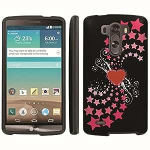 [ArmorXtreme] Designer Image Shell Cover Hard Case (Heart Star) for LG G3