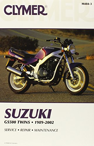 Suzuki GS500 Twins 1989-2002 (CLYMER MOTORCYCLE REPAIR)