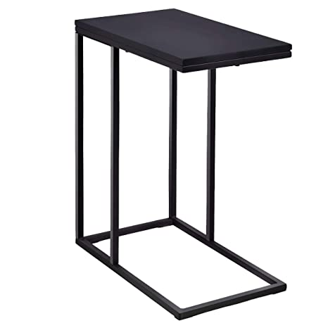 Superb Tangkula Coffee Tray Sofa Side End Table Ottoman Couch Table Console Table Lap Table Snack Table C Table End Table Black Inzonedesignstudio Interior Chair Design Inzonedesignstudiocom