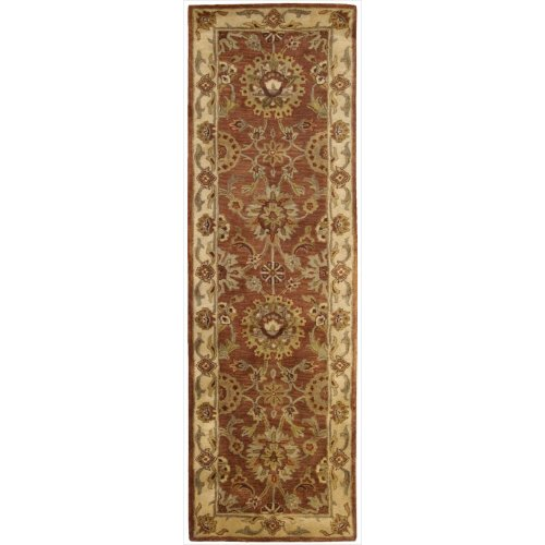 Nourison Jaipur (JA13) Rust Runner Area Rug, 2-Feet 4-Inches by 8-Feet  (2'4