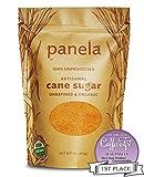 Just Panela Unrefined and Organic Artisanal Cane Sugar - 1 pound bag