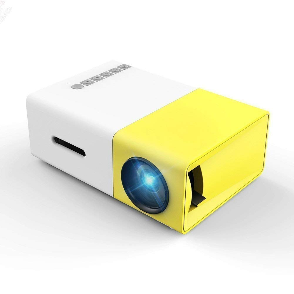 Mini Projector, YG300 Portable Pico Full Color LED LCD: Amazon.in: Electronics
