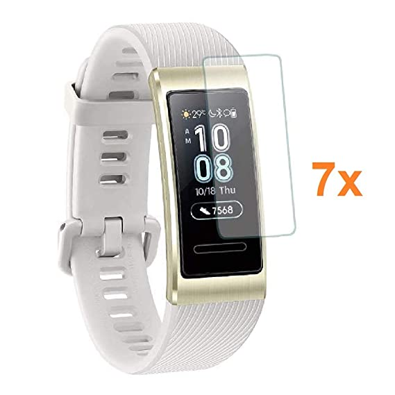 Amazon.com: 7X Screen Protector for Huawei Band 3 PRO, Film ...