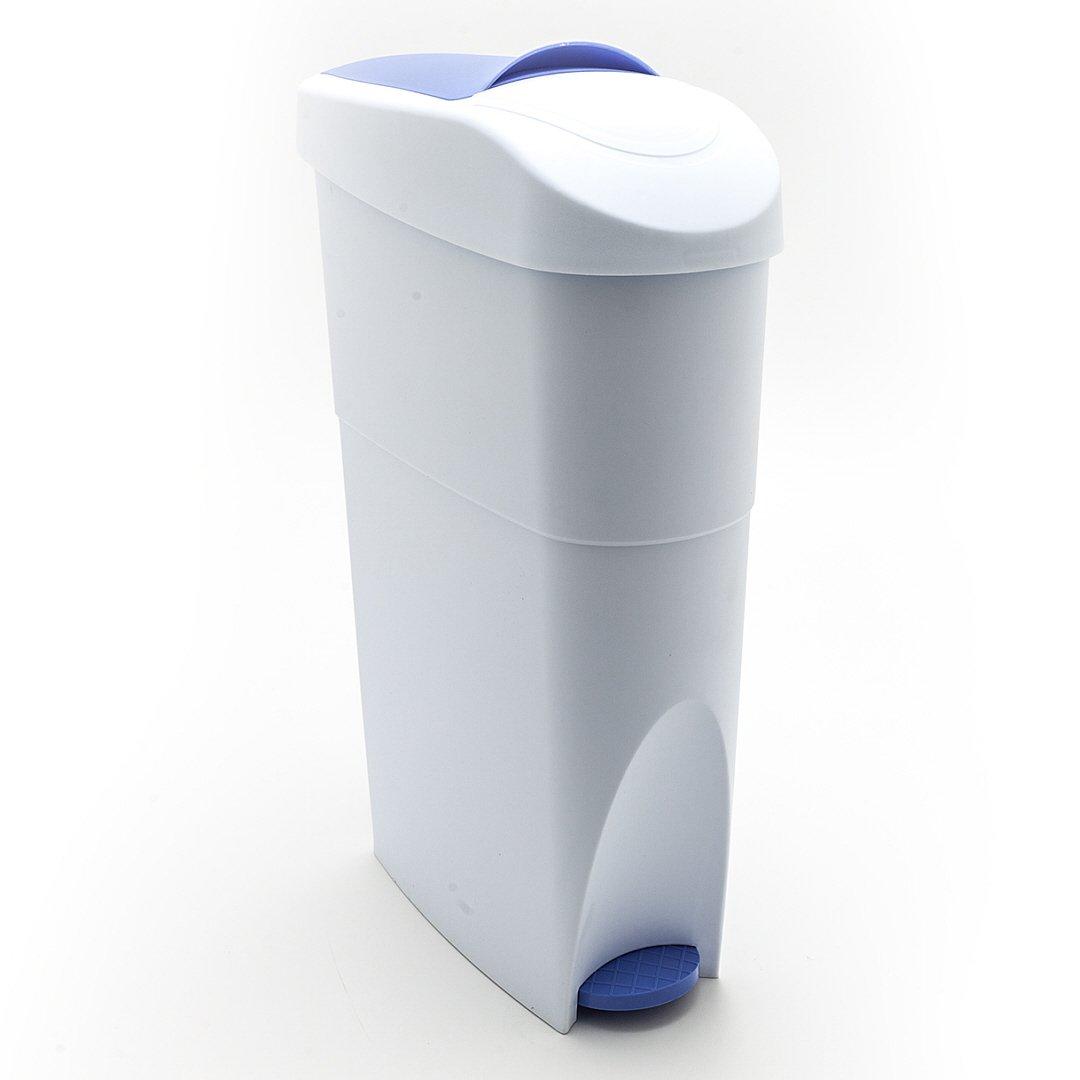 Abfalleimer schmal für Bad Küche Treteimer Mülleimer Abfallbehälter Hausmarke