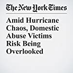 Amid Hurricane Chaos, Domestic Abuse Victims Risk Being Overlooked | Maya Salam