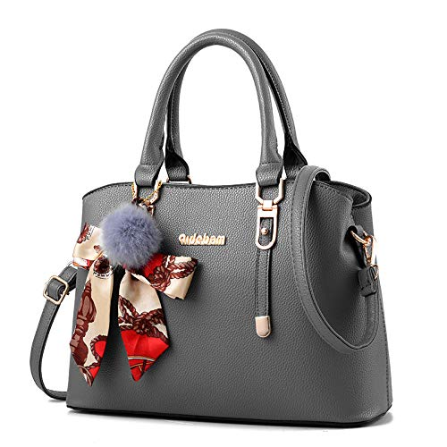 Female European Oscuro Oscuro 2018 Middle Bag Shoulder Gris Diagonal aged hlh Pu Mother gris And Handbag Trend American 6qTIwT