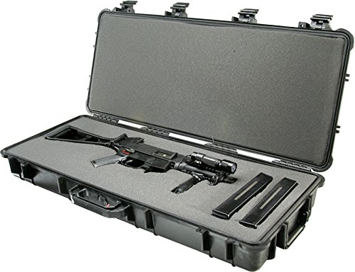 Pelican 1700 Rifle Case With Foam (Black) by Pelican (Image #1)