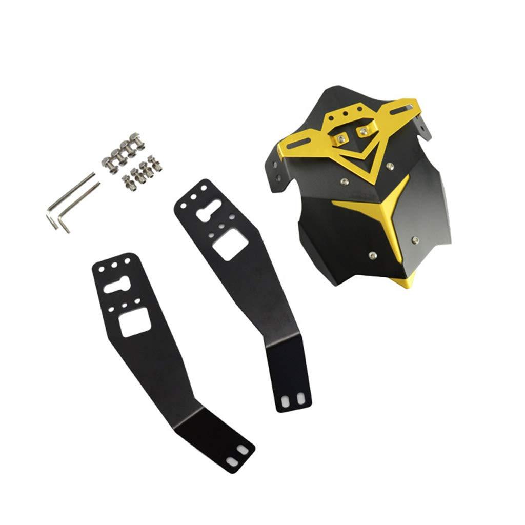 Universel Moto Arri/ère Splash Guard Garde-Boue Noir