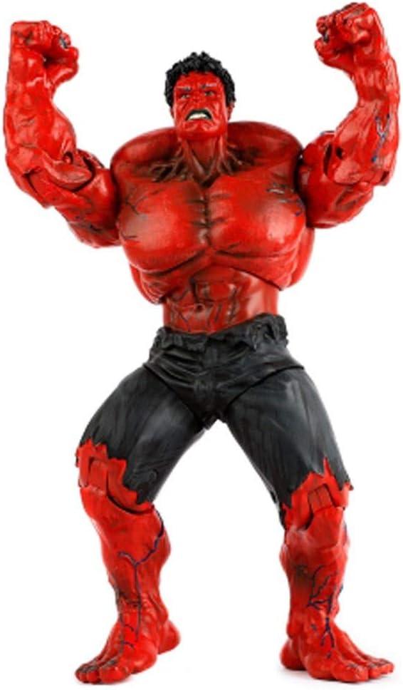 Juguetes Red Hulk - Marvel Avengers - PVC - 10.2