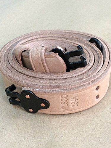 U.S. 1907 WWII Garand Rifle Sling: Steel Fittings (Repro) for sale  Delivered anywhere in USA