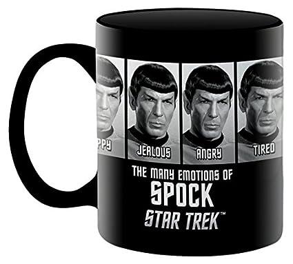 6fdcc8c2c81 Amazon.com: Aquarius Star Trek Emotions of Spock 11 oz Boxed Ceramic ...