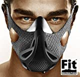 FitRecreation Altitude Workout Mask by Workout Mask for Running, Biking, and Fitness - High Altitude Simulation Mask For Top Performance - Restricting Breathing Mask - 4 Level Workout Mask
