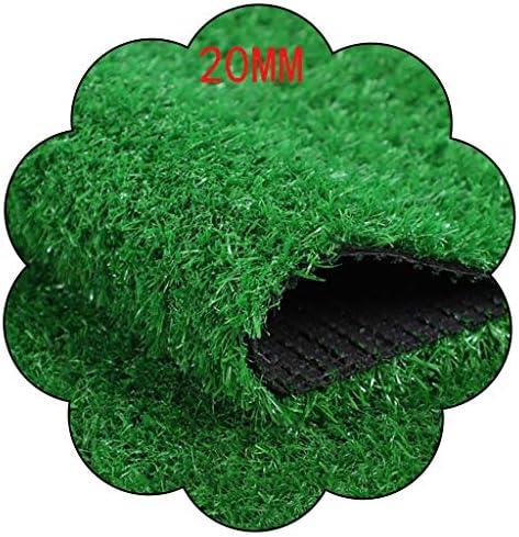 XEWNEG 屋外ウォールガーデングリーン暗号化Falseの芝生、ペットマット、防水性と容易なクリーニング、幅2Mための非スリップのために20ミリメートル人工芝マット、 (Size : 2x6M)