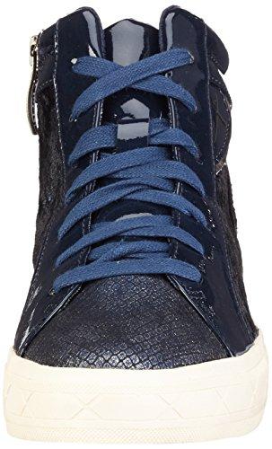 Hi top Sneakers Comb Tamaris Blue Women''s 890 navy 25217 BqfU6RUE