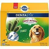 PEDIGREE DENTASTIX Large Dog Chew Treats, Fresh, 28 Treats