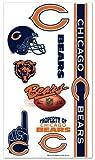 Chicago Bears NFL Temporary Tattoos (10 Tattoos)