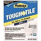 Homax 720773 Tub & Sink Brush-On One-Part Epoxy, 26-Ounce White