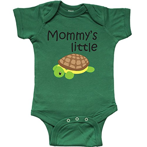 inktastic - Mommy's Little Turtle Infant Creeper 18 Months Kelly Green 1827f