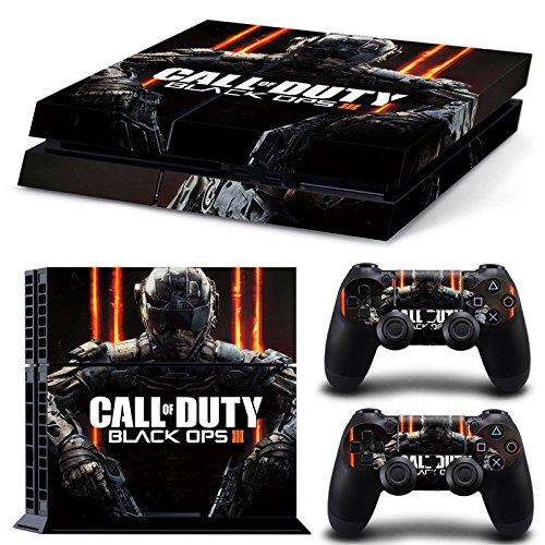 Call of Duty Black Ops 3 Premium Designer Limited Edition PS4 Skin + 2 Free PS4 Controller Skins