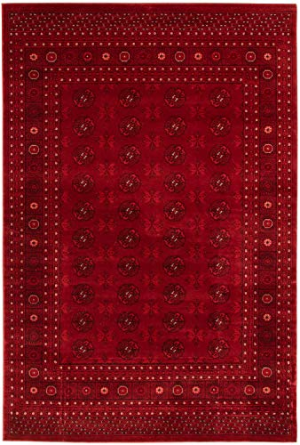 """eCarpet Gallery Traditional   Area Rug for Living Room, Bedroom   Home Decor Rug   Bokhara Red Rug 5'3"""" x 8'0""""   303860 from eCarpet Gallery"""
