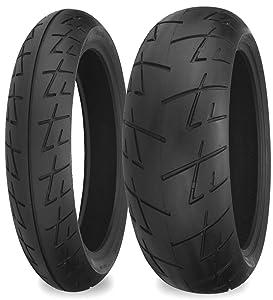 Shinko 009 Raven Rear 180/55ZR17 Motorcycle Tire