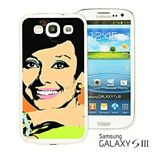 OnlineBestDigitalTM - Celebrity Star Hard Back Case for Samsung Galaxy S3 III I9300 - Audrey Hepburn Pop Art