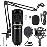 ZINGYOU Condenser Microphone Bundle, BM-800 Mic Set for...