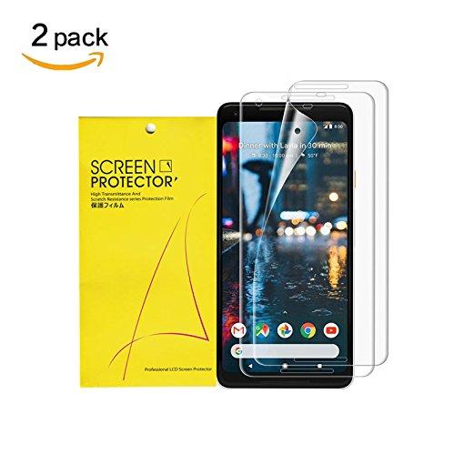 For Google Pixel 2 XL Screen Protector [2pcs] ,Webmi [Bubble-Free][Anti-Scratch][Anti-Fingerprint],Soft Flexible TPU film HD clear Screen Protector for Google Pixel2 XL